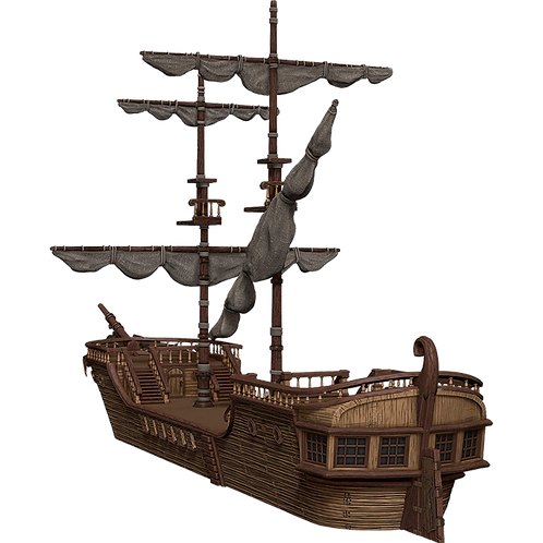 D&D: Icons of the Realms - The Falling Star Sailing Ship