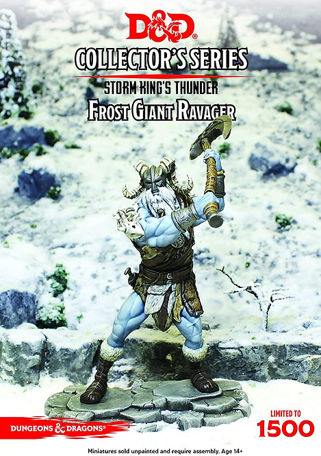 Dungeons Dragons Collector's Series Storm Kings Thunder Frost Giant Ravager Limi