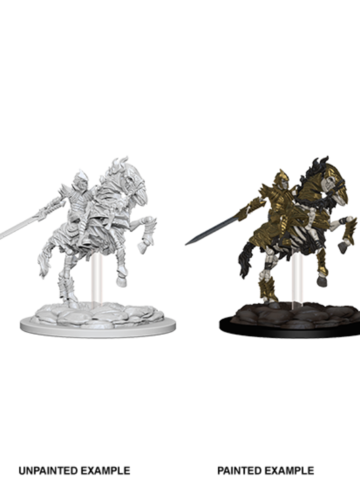 Pathfinder Deep Cuts Unpainted Miniatures - Skeleton Knight on Horse