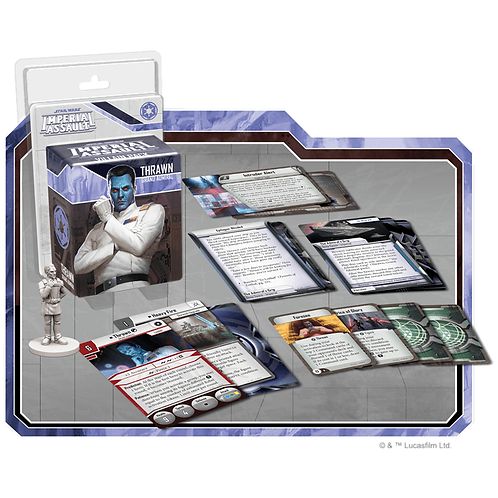 Star Wars Imperial Assault: Villain Pack - Thrawn (Exp)