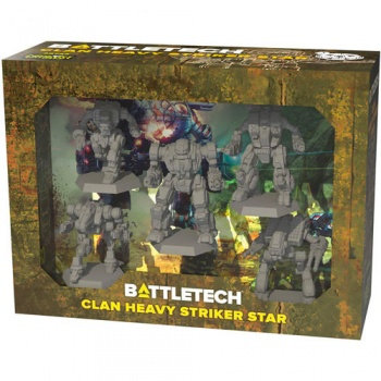 Battletech Clan Heavy Striker Star