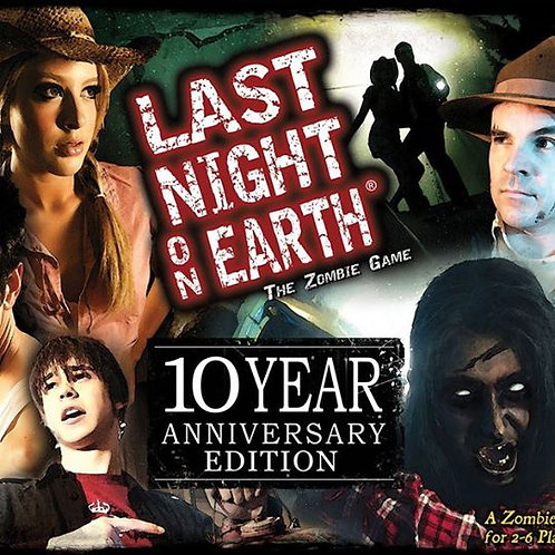 Last Night on Earth 10 Year Anniversary Edition