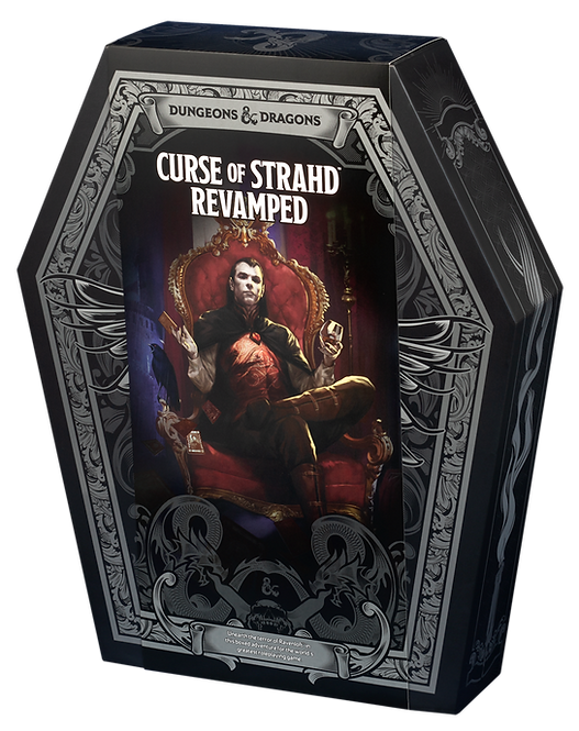 D&D Curse of Strahd Revamped
