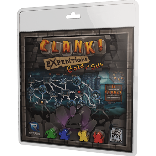 Clank! Expeditions: Gold and Silk (Exp)