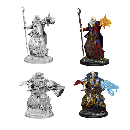 D&D Nolzur's Marvelous Unpainted Miniatures - Human Male Wizard