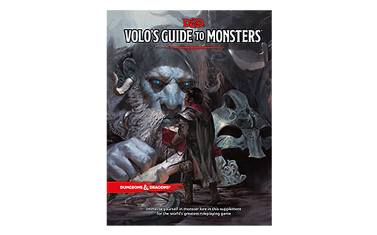 D&D 5.0: Volo's Guide To Monster