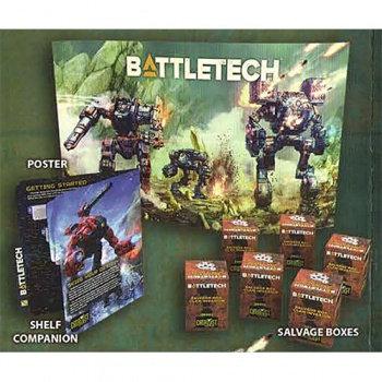 Battletech Clan Invasion Retailer Field Kit