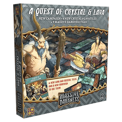 Massive Darkness: A Quest Of Crystal And Lava (Exp)