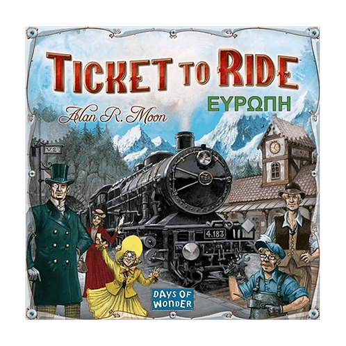 Ticket to Ride: Ευρώπη