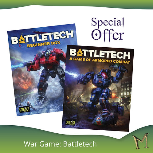 Battletech - Game of Armored Combat + Battletech Beginers Box