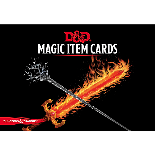 D&D 5.0: Magic Item Cards