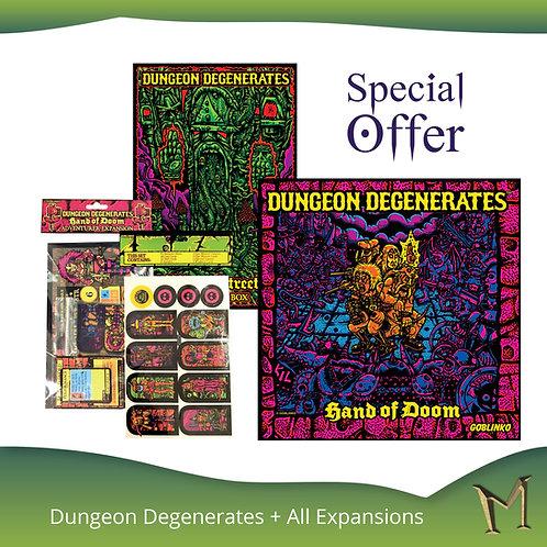 Dungeon Degenerates: Hand of Doom + exp
