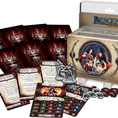 Descent: Journeys in the Dark (Second Edition) – Serena Lieutenant Pack