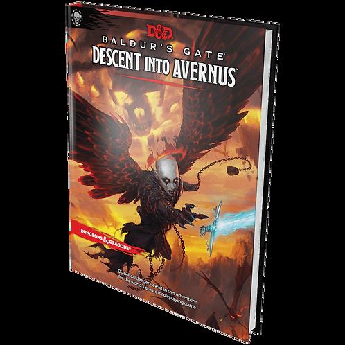 D&D Baldur's Gate: Descent into Avernus Adventure Book