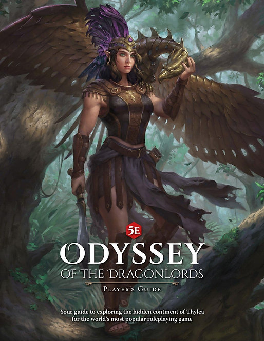 Odyssee of the Dragonlords Players Guide