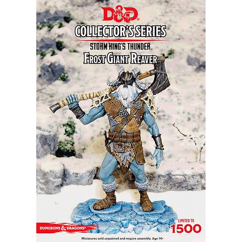 Frost Giant Reaver: D&D Collector's Series Storm King's Thunder Miniature