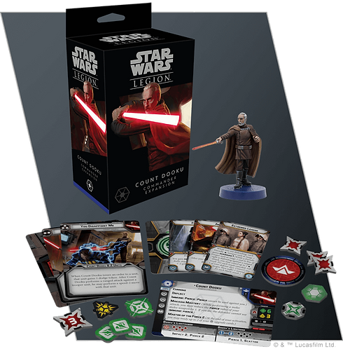 Star Wars Legion - Count Dooku Commander Expansion