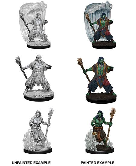 D&D Nolzur's Marvelous Miniatures - Water Genasi Druid