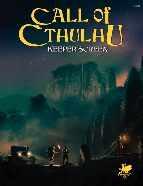 Call of Cthulhu 7th Ed - Keeper Screen Pack
