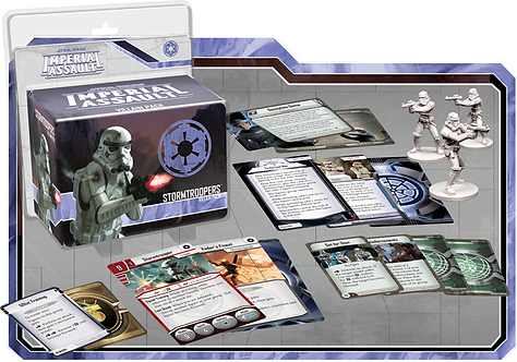 Star Wars Imperial Assault: Stormtroopers Villain Pack (Exp.)
