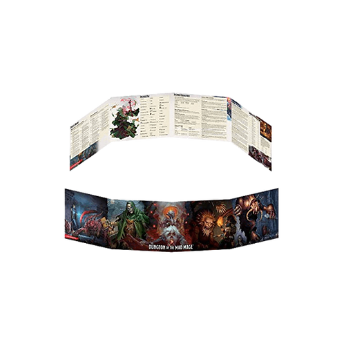 D&D Dungeon of the Mad Mage - DM Screen