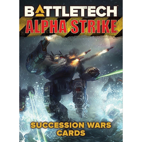 BattleTech AS Succession Wars Cards