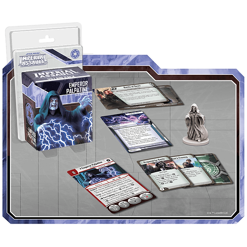 Star Wars Imperial Assault: Villain Pack - Emperor Palpatine (Exp)