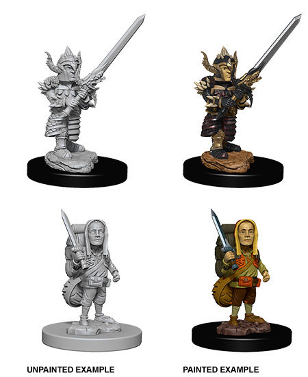 D&D Nolzur's Marvelous Miniatures: Male Halfling Fighter