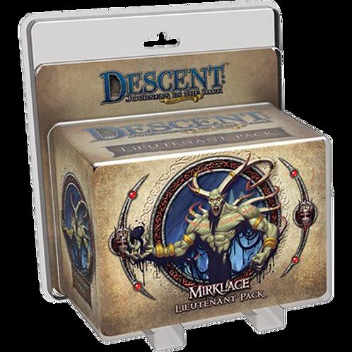 Descent: Journeys in the Dark (Second Edition) – Gargan Mirklace Lieutenan(Exp.)