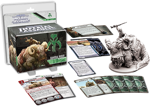 Star Wars Imperial Assault: Bantha Rider Villain Pack (Exp)