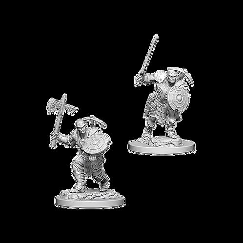 D&D Nolzur's Marvelous Miniatures - Earth Genasi Male Fighter