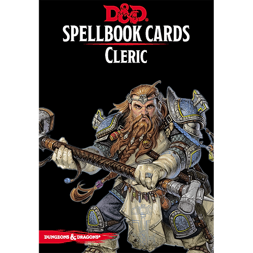 Dungeons and Dragons: Spellbook Cards - Cleric
