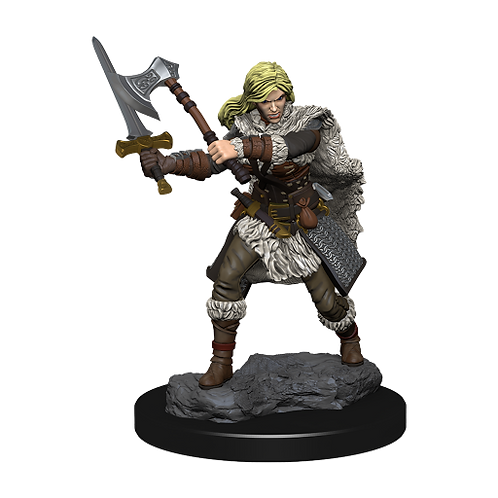 D&D Icons of the Realms Premium Figures: Human Female Barbarian