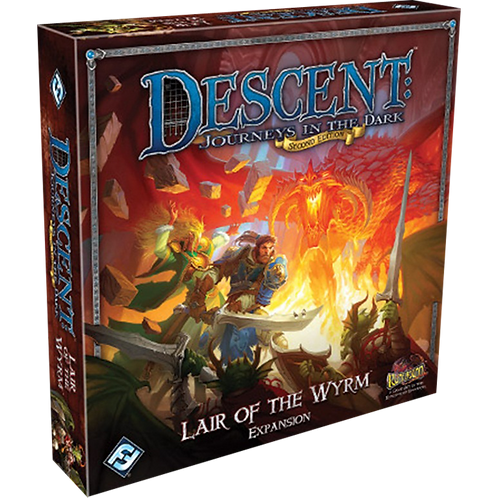Descent: Journeys in the Dark (Second Edition) – Lair of the Wyrm (Exp.)