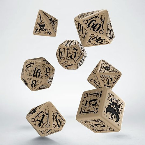 Pathfinder Council of Thieves DiceSet (7)