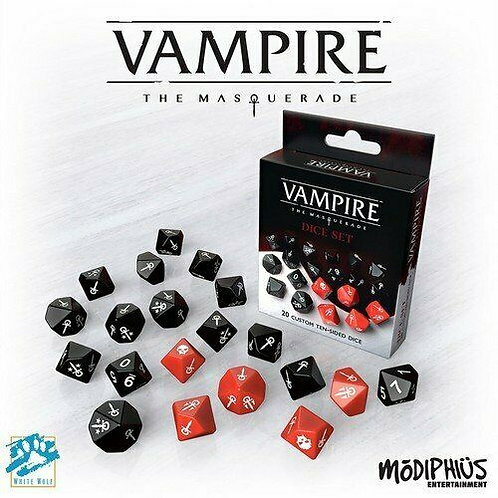 Vampire The Masquerade 5th Edition Dice Set