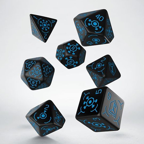 Ingress Dice set: Resistance (7)