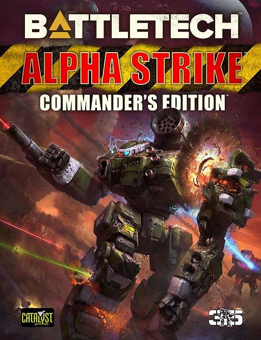 Battletech Alpha Strike Commander's Edition