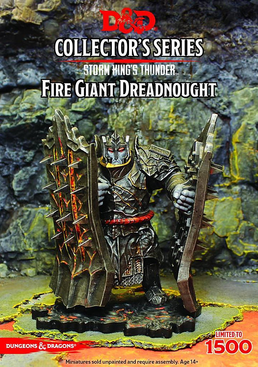 D&D Collectors Series Storm Kings Thunder Fire Giant Dreadnought Limited
