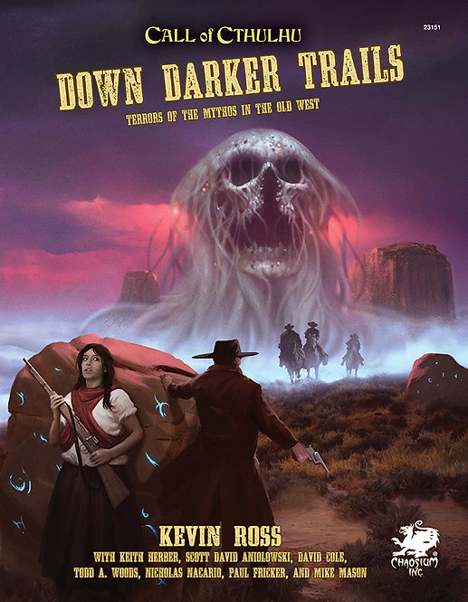 Call of Cthulhu 7th Edition - Down Darker Trails