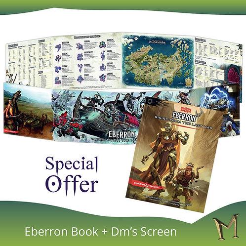 D&D Eberron: Rising From the Last War Adventure Book + Dm's Screen