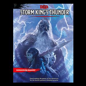 D&D 5.0: Storm King's Thunder