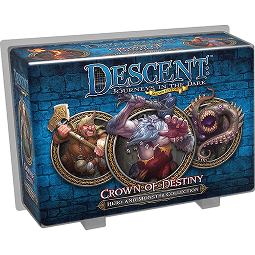 Descent: Journeys in the Dark (Second Edition) – Crown of Destiny(Exp.)