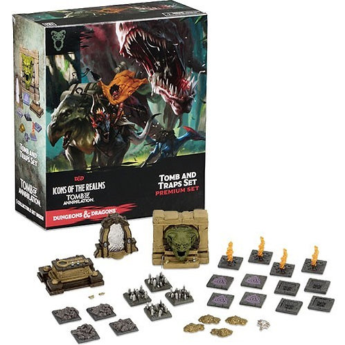 DUNGEONS & DRAGONS-Icons of the Realms-Tomb of anihilation Premium Set
