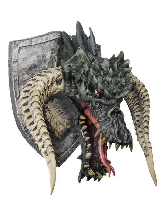 Dungeons & Dragons Black Dragon Trophy Plaque