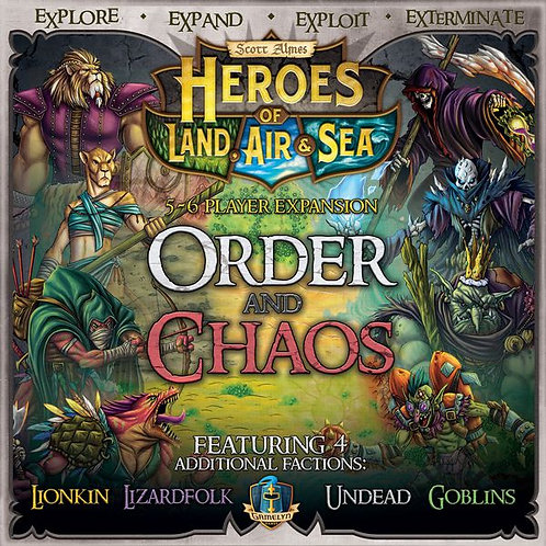 Heroes of Land, Air & Sea: Order and Chaos (Exp)