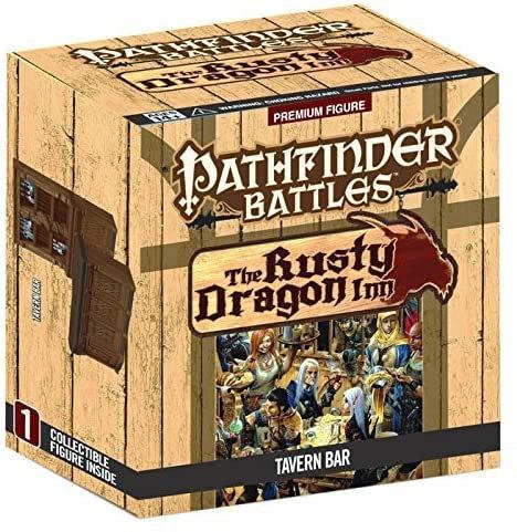 Pathfinder Battles Rusty Dragon Inn Rusty Dragon Bar Case Incentive