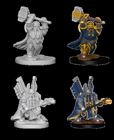 D&D Nolzur's Marvelous Miniatures - Dwarf Male Paladin
