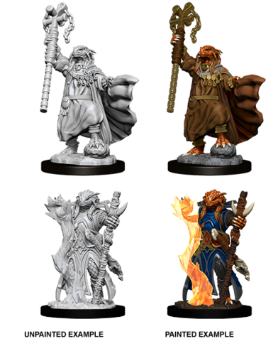 D&D Nolzur's Marvelous Miniatures - Female Dragonborn Sorcerer