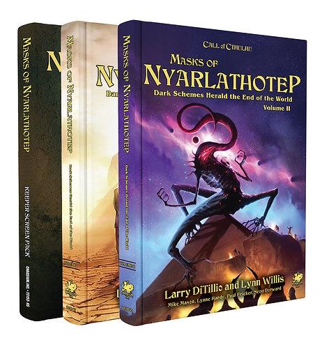Call of Cthulhu 7th Ed - Masks of Nyarlathotep Slipcase Set
